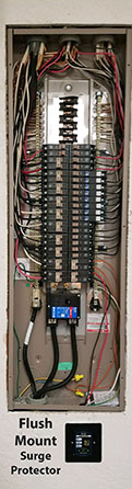 Circuit panel installation from Total Comfort